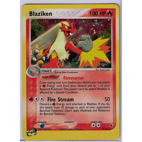 Blaziken - The Frugal Dutchman