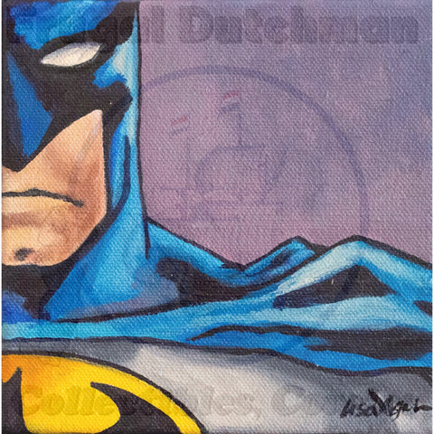 Lisa Agnew Print: Batman - The Frugal Dutchman