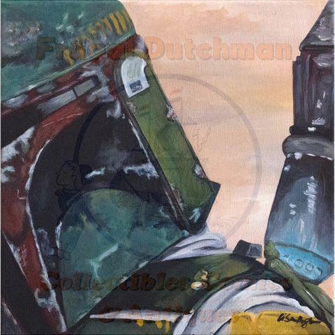 Boba Fett: Lisa Agnew Digital Print - The Frugal Dutchman