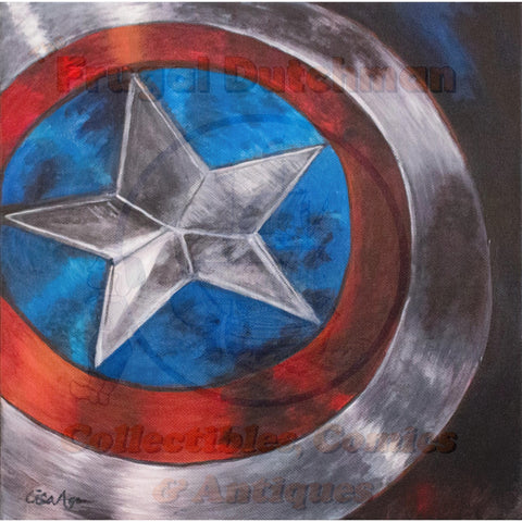 Captain America: Lisa Agnew Digital Print - The Frugal Dutchman