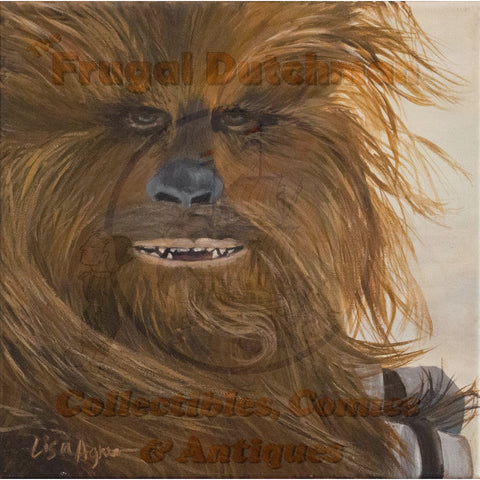 Chewbacca: Lisa Agnew Digital Print - The Frugal Dutchman
