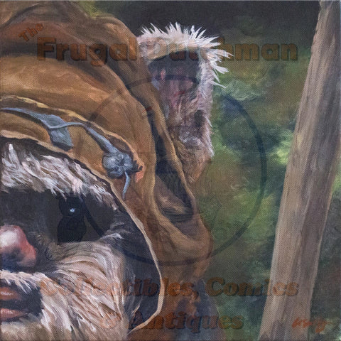 Ewok: Lisa Agnew Digital Print - The Frugal Dutchman
