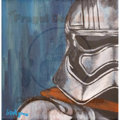 First Order Storm Trooper: Lisa Agnew Digital Print - The Frugal Dutchman