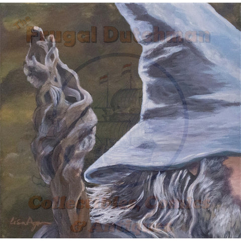 Gandalf: Lisa Agnew Digital Print - The Frugal Dutchman