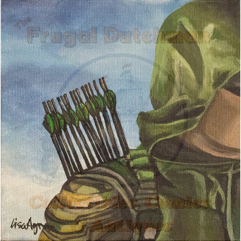 Green Arrow: Lisa Agnew Digital Print - The Frugal Dutchman