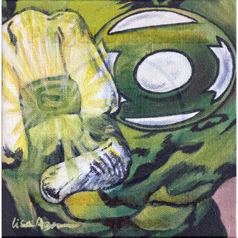 Green Lantern: Lisa Agnew Digital Print - The Frugal Dutchman