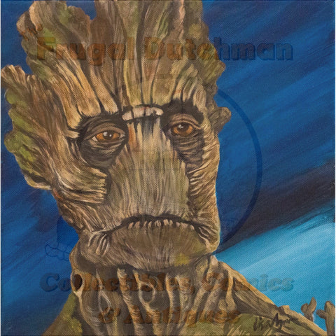 Groot: Lisa Agnew Digital Print - The Frugal Dutchman