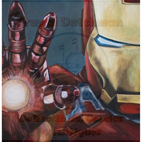 Iron Man: Lisa Agnew Digital Print - The Frugal Dutchman