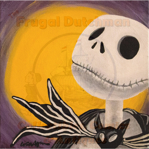 Jack Skellington: Lisa Agnew Digital Print - The Frugal Dutchman