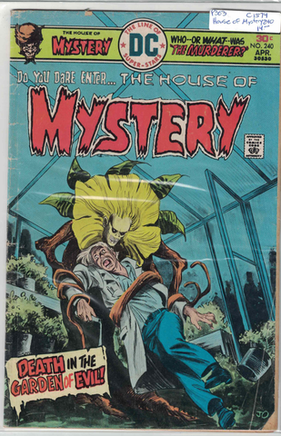 The House of Mystery #240