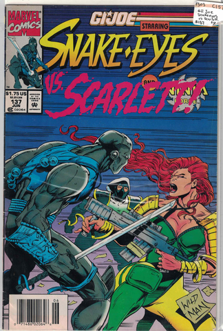 G.I. Joe Snake Eyes vs. Scarlett #137