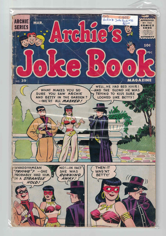Archie's Joke Book #39