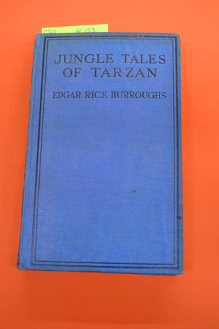 Jungle Tales of Tarzan(Edgar Rice Burroughs)Methuen 1921