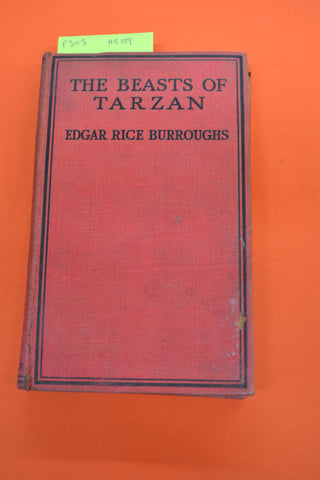 The Beasts of Tarzan(Edgar Rice Burroughs)Methuen 1920