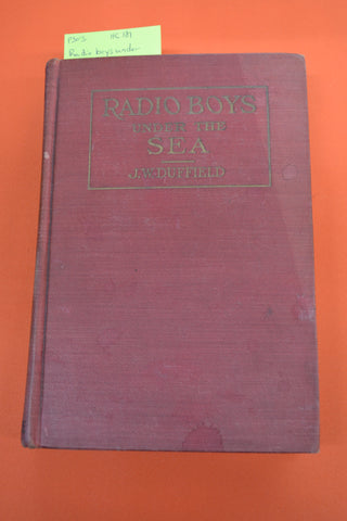 Radio Boys Under The Sea(J.W. Duffield)Donohue 1923