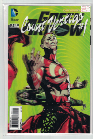 Green Arrow #23.1/Count Vertigo #1(3D Variant)