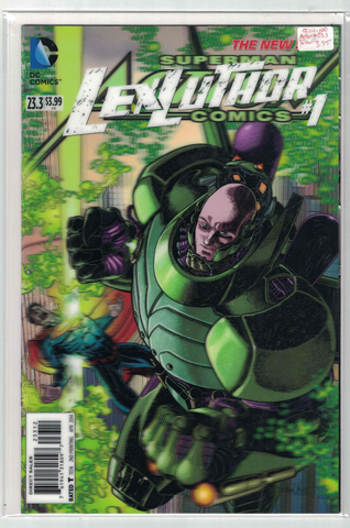 Action # 23.3/Lex Luthor #1(3D Variant)