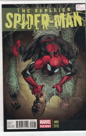 Superior Spiderman #5(Mark Bagley Variant)
