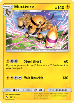 Electivire: Ultra Prism 44/156