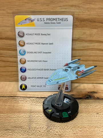 USS Prometheus(w/Card)