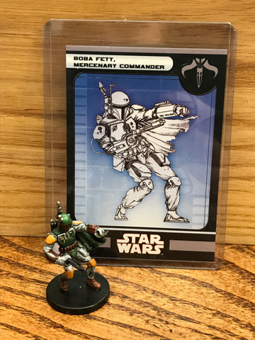 Boba Fett Mercenary Commander 53/60