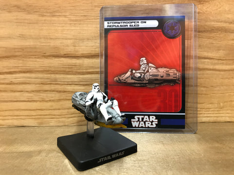 Stormtrooper on Repulsor Sled(36/60)
