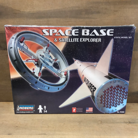 Space Base & Satellite Explorer(Sealed)