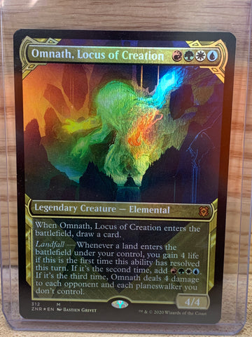 Omnath, Locus of Creation(Showcase Foil)