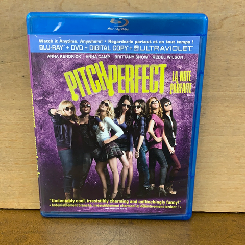 Pitch Perfect Blue Ray