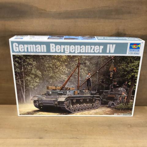German Bergepanzer 1/35 Scale