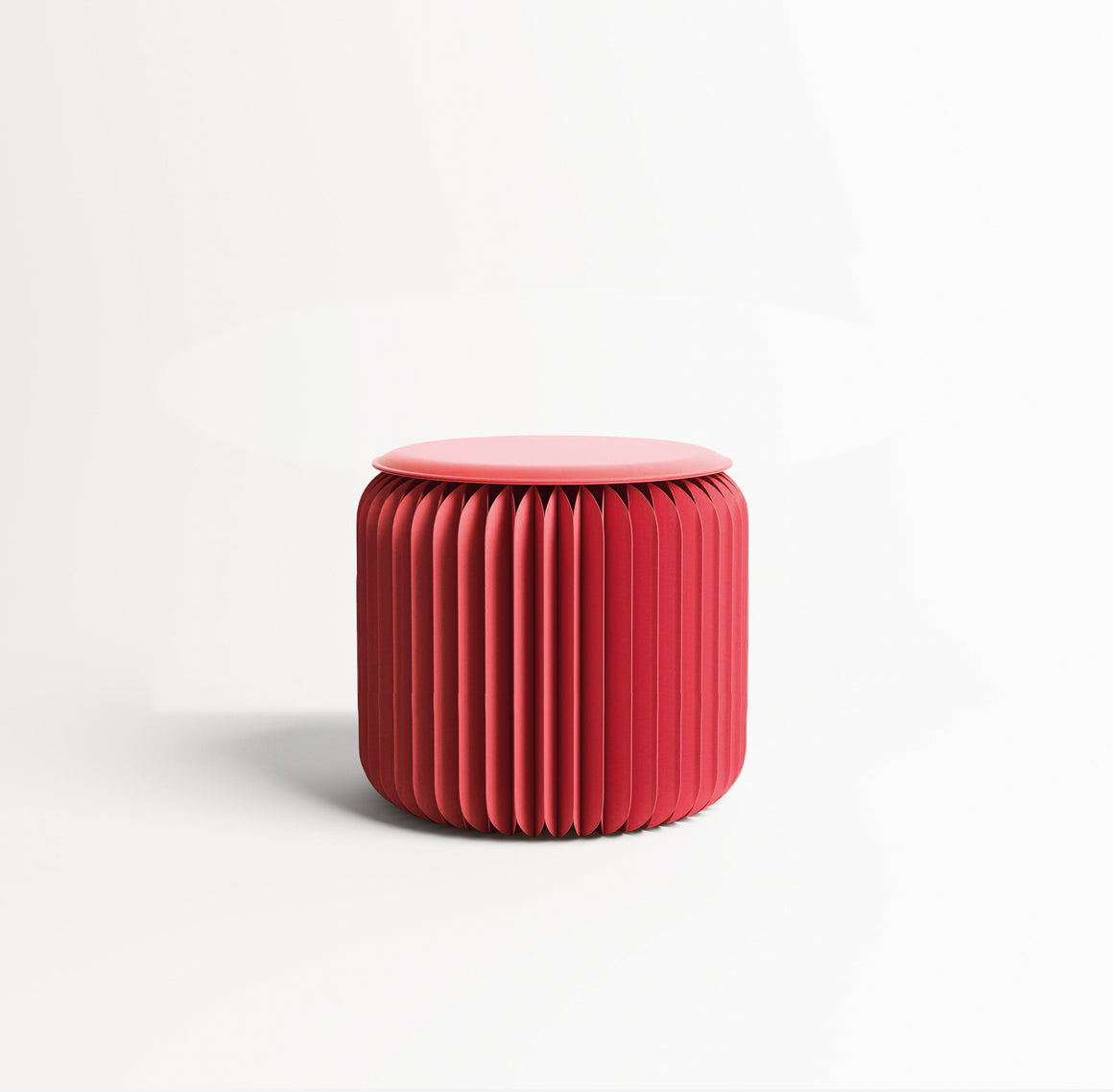 Foldable Red Mini Stool