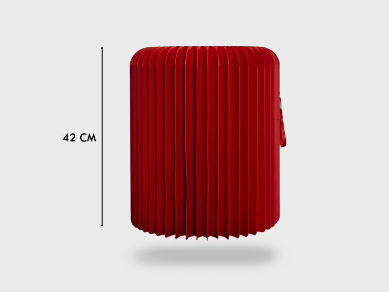 Foldable Red Stool