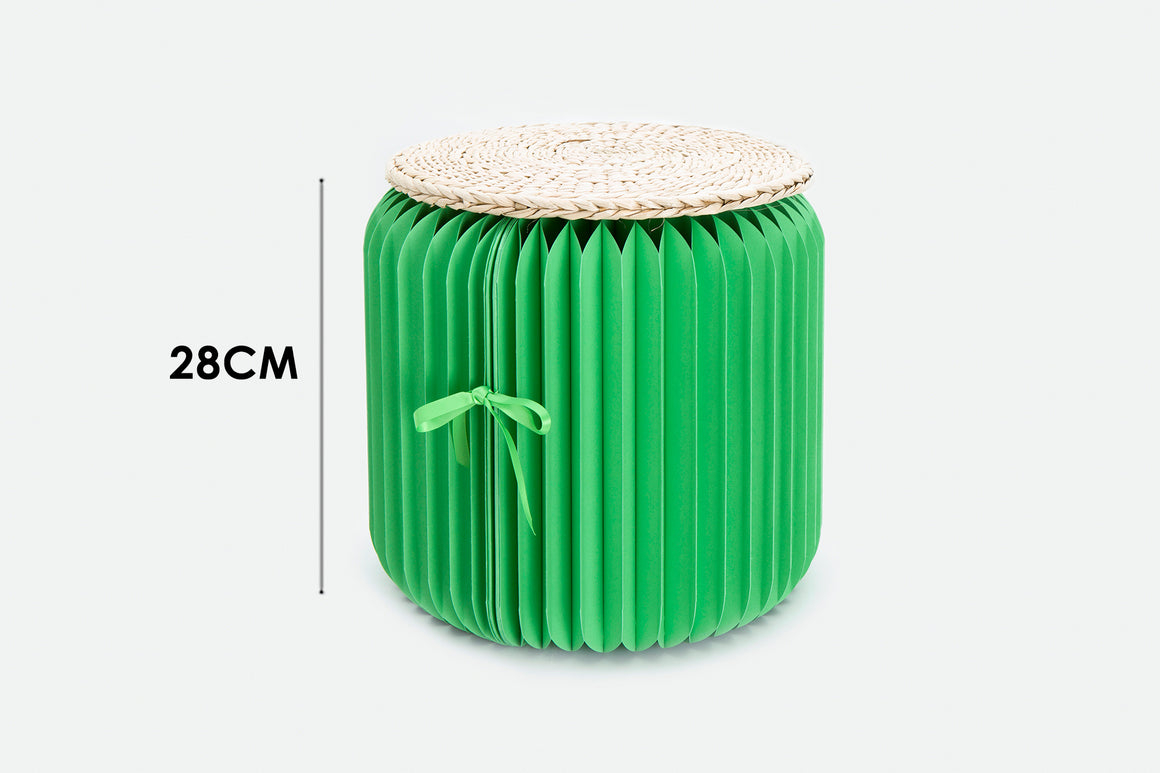 Foldable Green Mini Stool