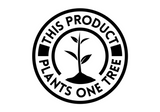 This product plants one tree