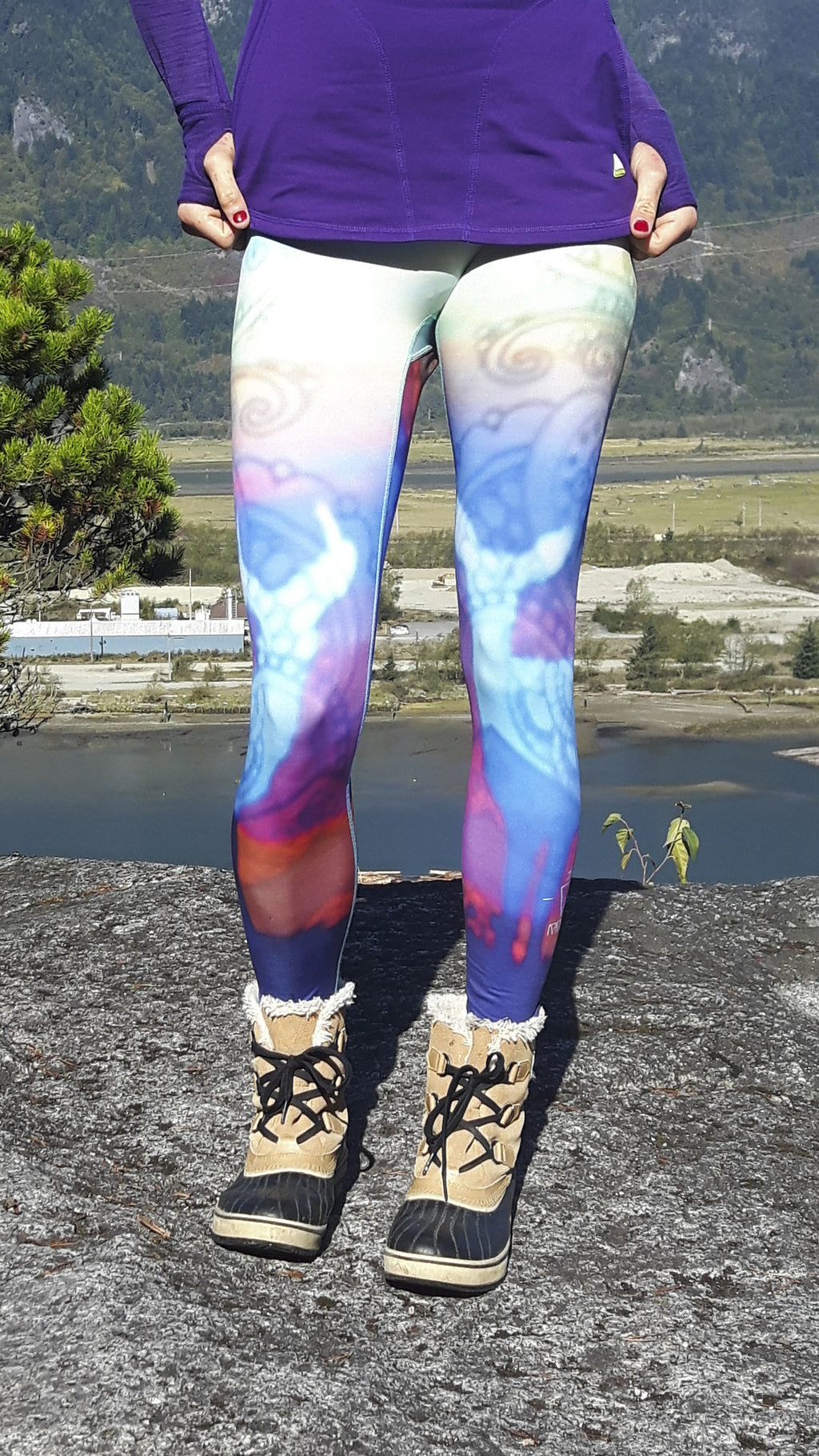 Deer to My Heart Thermal Leggings - XXS, XS ONLY