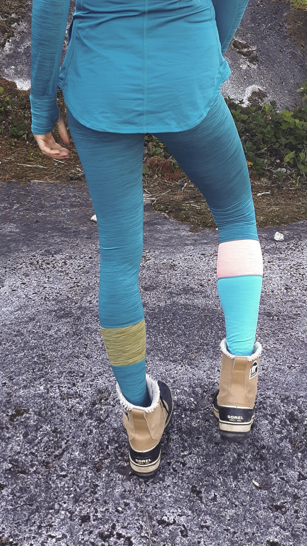 Breeze in Fall Trees Thermal Leggings