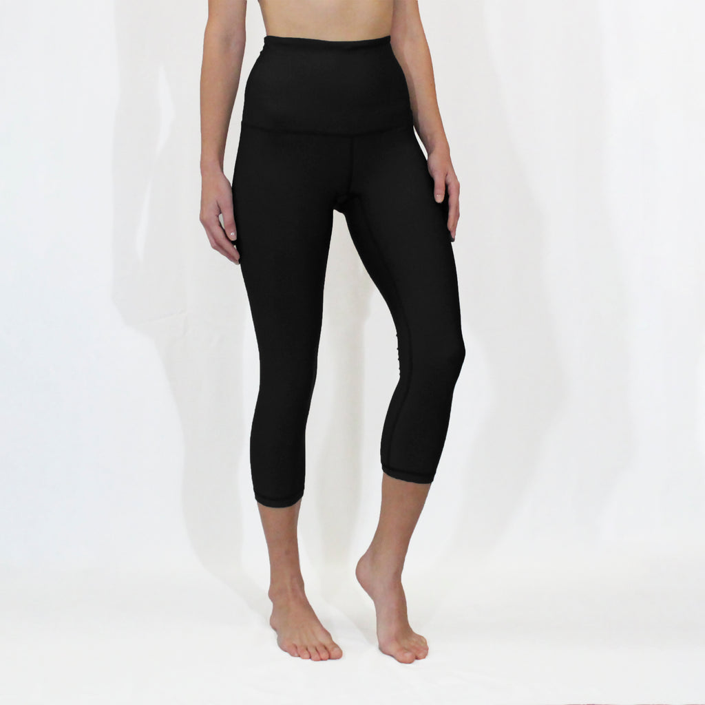 WINTER - Black Baselayer Capri