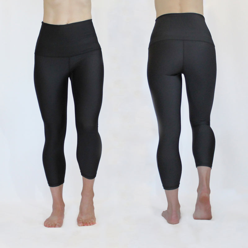 SUMMER - The Give Back with Black 7/8th Compression Legging