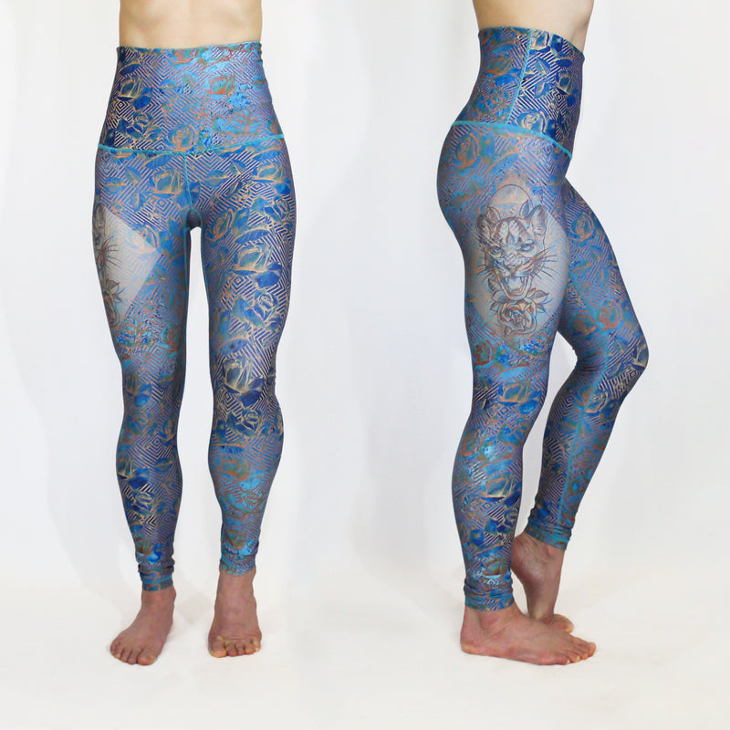 APRIL - The Lovely Mountain Lioness Leggings - LAST CHANCE!