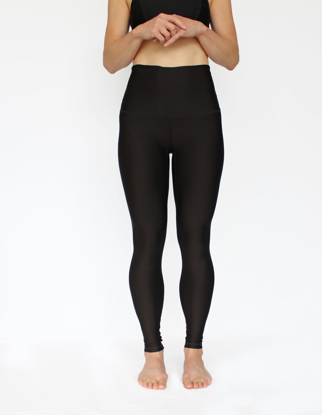 The Give Back with Black Athletic Tights - LAST PAIRS: Sizes XXS & M