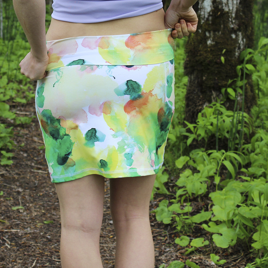 PEACHES-N-GREEN 3-WAY SKIRT