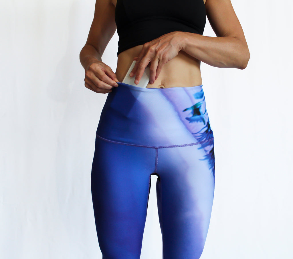 SEPTEMBER - The Crystal Thistle Leggings - LAST CHANCE