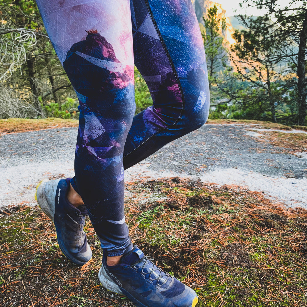 "Adventure Besties - The ""Shoot for the Summit"" Athletic Tights - LAST CHANCE"