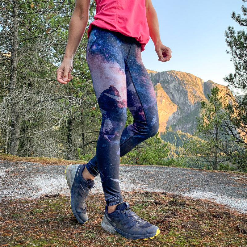 """Shoot for the Summit"" Athletic Tights"