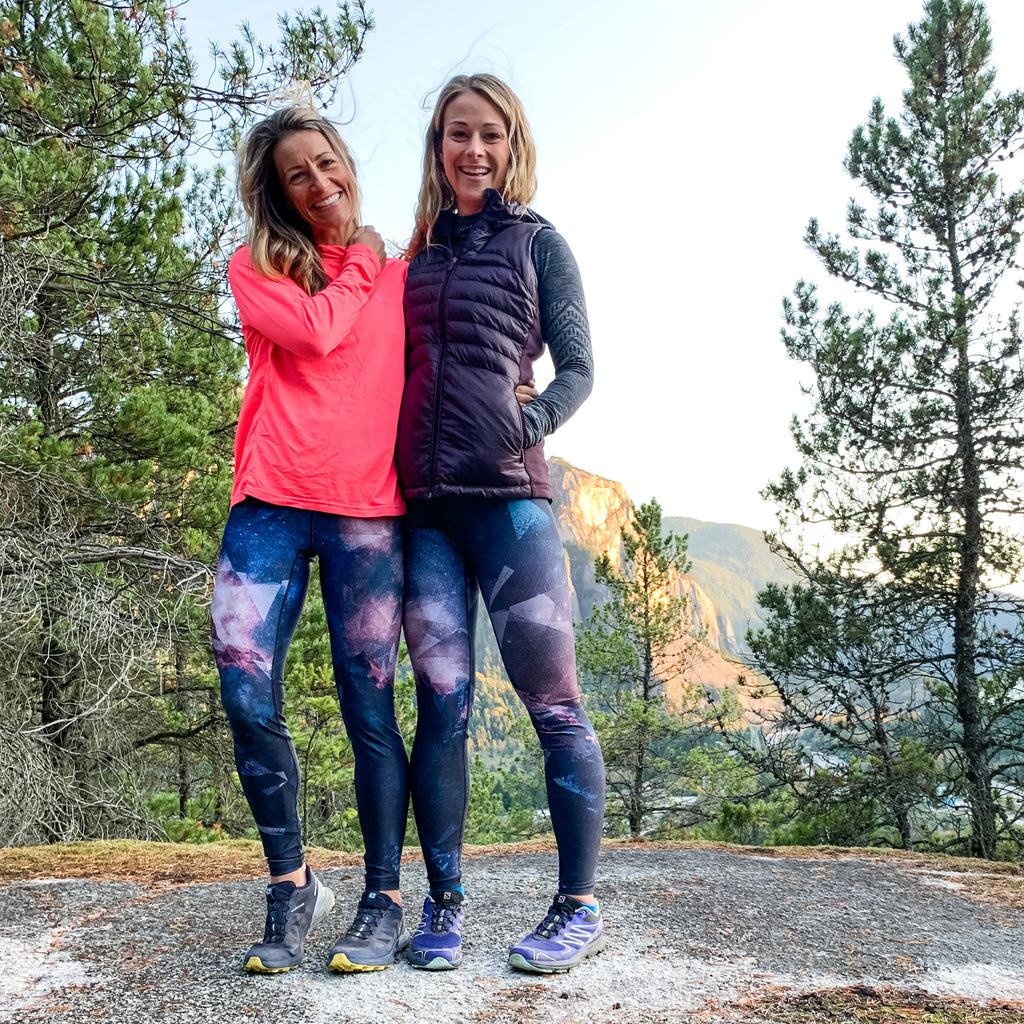 """Journey to the Moon"" Athletic Tights"