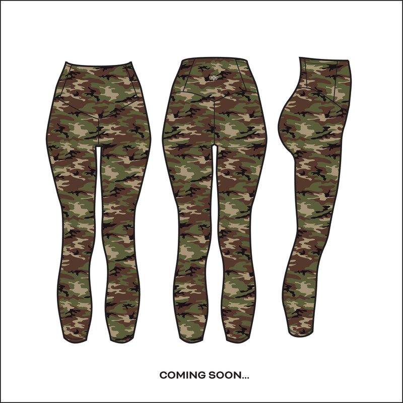 """Woodland Camo"" Basecamp Capri - pre-order by June 15th!"