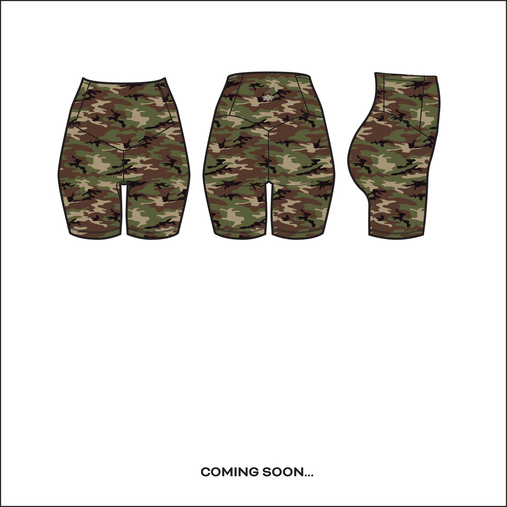 """Woodland Camo"" Basecamp Shorts - pre-order by June 15th!"