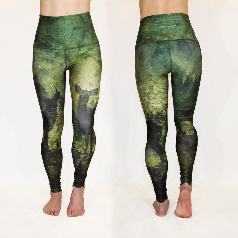 FEBRUARY - The Courage, Deer Heart Leggings - ONLY 1 LEFT, SIZE XXL
