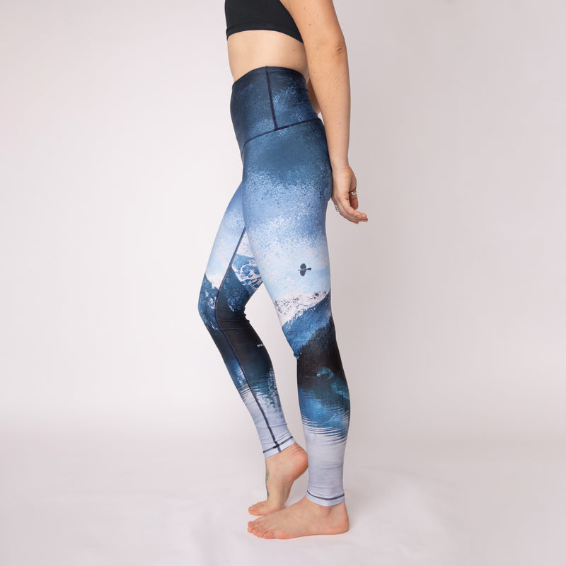 "Athletic Tights - The ""Grace Land"" Print"