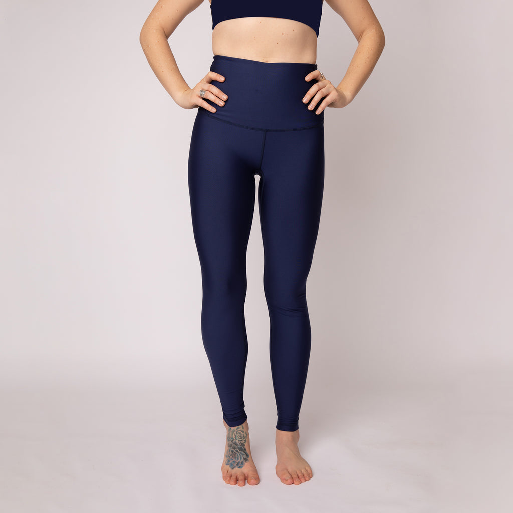 Baselayer Leggings - Marine Blue